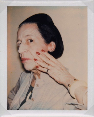 Diana Vreeland by Andy Warhol The Eye Has to Travel: Diana Vreeland