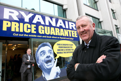 Ryanair pop-up shop - whatever next?