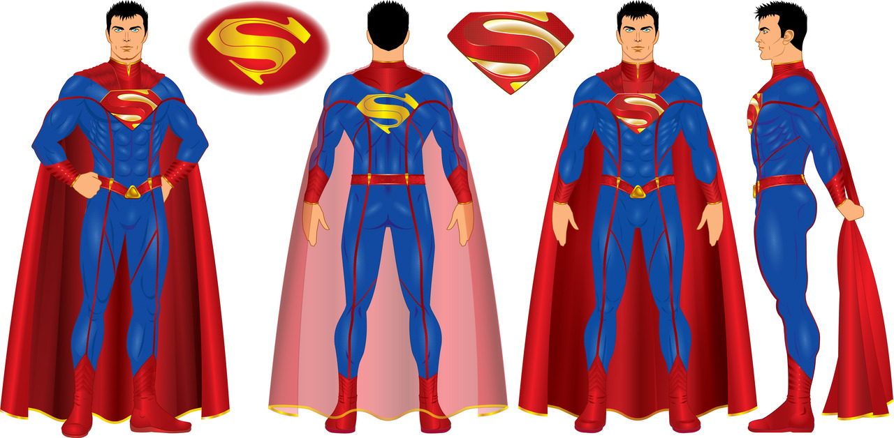 godstaff:  Outfit variations for Superman from Earth 52.