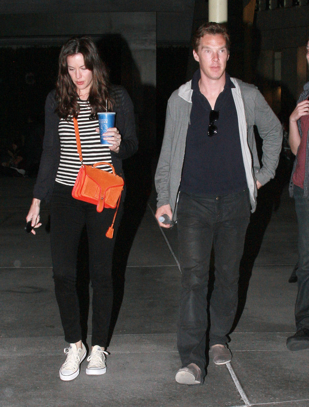 Liv Tyler and Benedict Cumberbatch went on a date last night!!