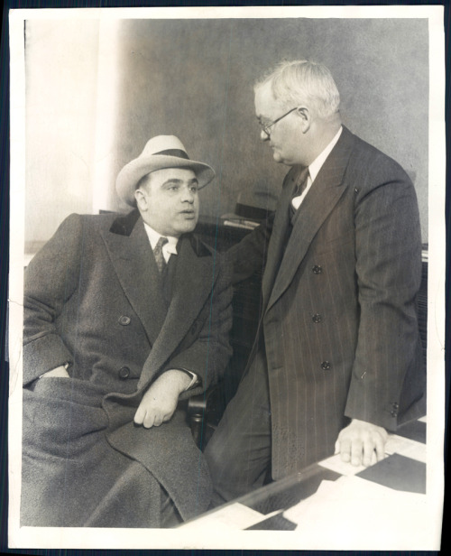 Deputy Commissioner of Police John Stege asked Capone to leave town.