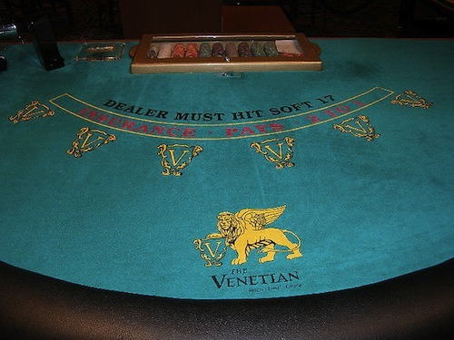 I Hope This Doesn't Mean 6:5 Blackjack Is Coming To Venetian & Palazzo