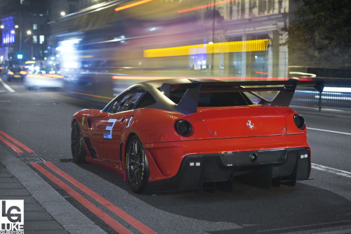 itracing:  599XX EVO (Image by Luke Alexander Gilbertson)
