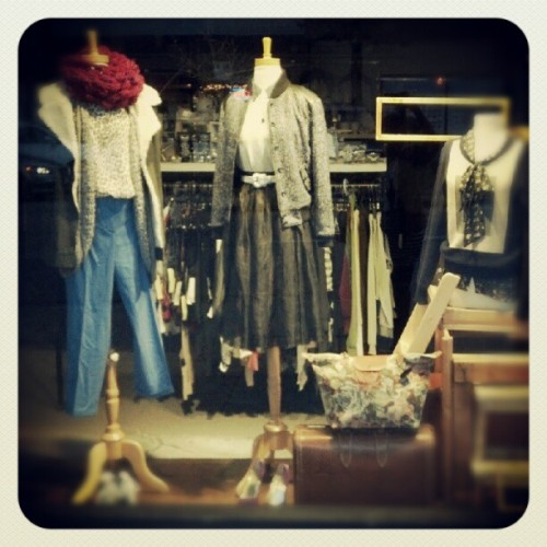 One of my windows this week! #styling (Taken with Instagram at Front & Company)