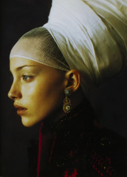 infanta style, vogue italia september 1997 by paolo roversi