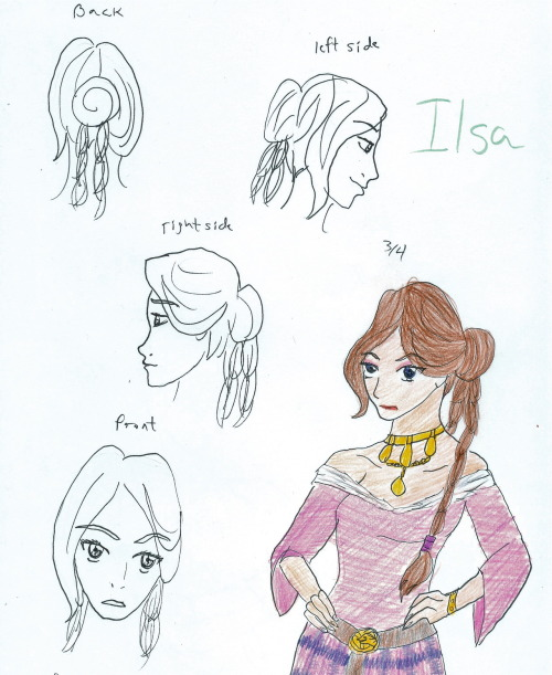 A character of mine her name is Ilsa. She is a part of the Council who elected Vladimir as a ruler. She is his right hand lady.
