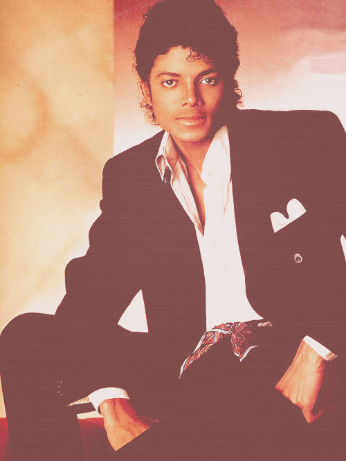 Man, Michael was fine. Those big, beautiful eyes.