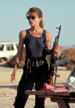 oldfilmsflicker:  Happy Birthday Linda Carroll Hamilton (born September 26, 1956)
