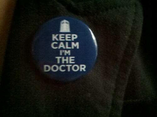 My friend Hannah got me a button^.^ These things mean the world to me.