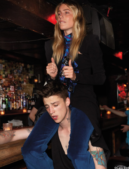 Dree Hemingway & Ash Stymest for Muse Magazine.
