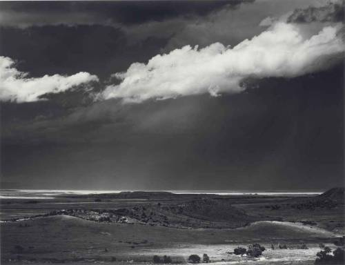 Thunderstorm, Near Cimarron, New Mexico, 1960 photo by Ansel Adams
