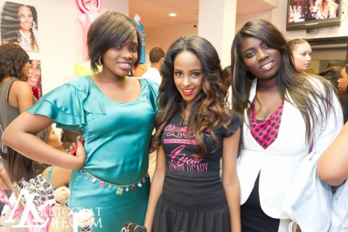 2 OF OUR STYLISTS AND OUR DOLL LIDIA!