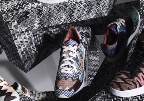 Missoni x Converse - Archive Project at it again with these bold patterned sneakers. Pro Leathers and Auckland Racers coming in the crazy knit uppers. click here for more pics Related articles Missoni for Converse Auckland Racer - Spring/Summer 2013 (sneakernews.com)