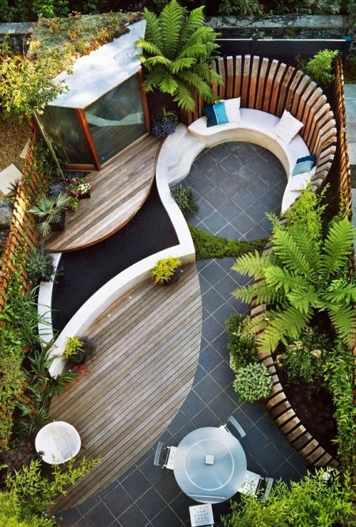 excelent courtyard idea