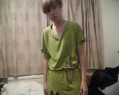 And Peter Pan is off out.