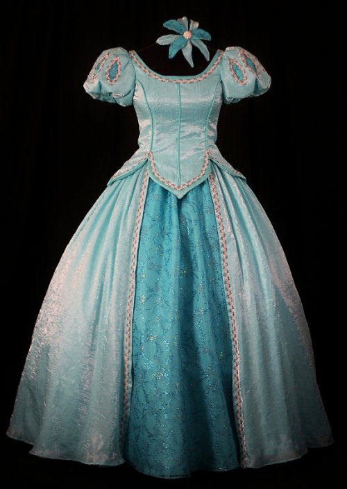 kimberlylikestodraw:  Gorgeous, Handmade Disney Princess Dresses For Adults @ Etsy