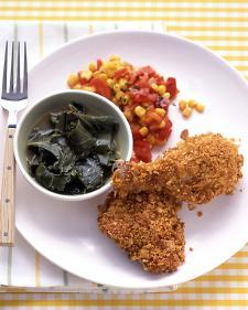 (via Cornflake-Crusted Baked Chicken - Whole Living Eat Well)