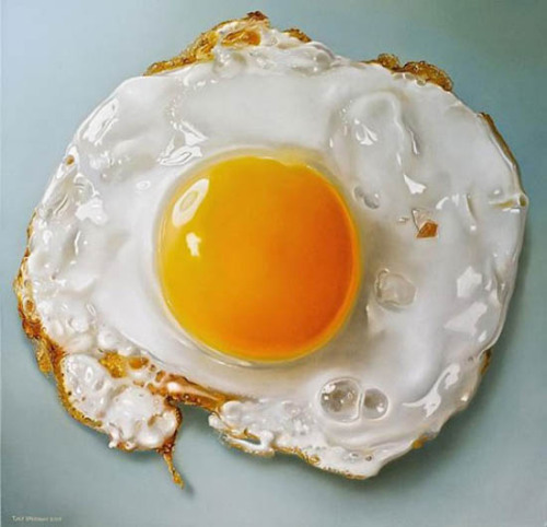 Yum. A painting by Tjalf Sparnaay.
