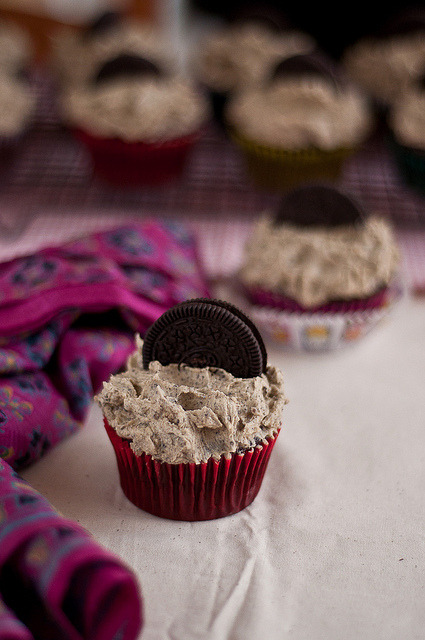 Cookies and Cream Cupcakes  |  Seven Spice
