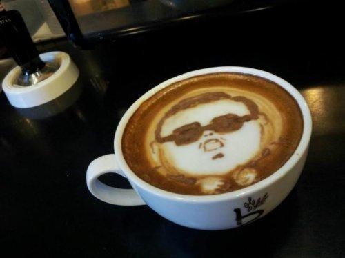 Psyppuccino I'll take mine Gangnam Style.