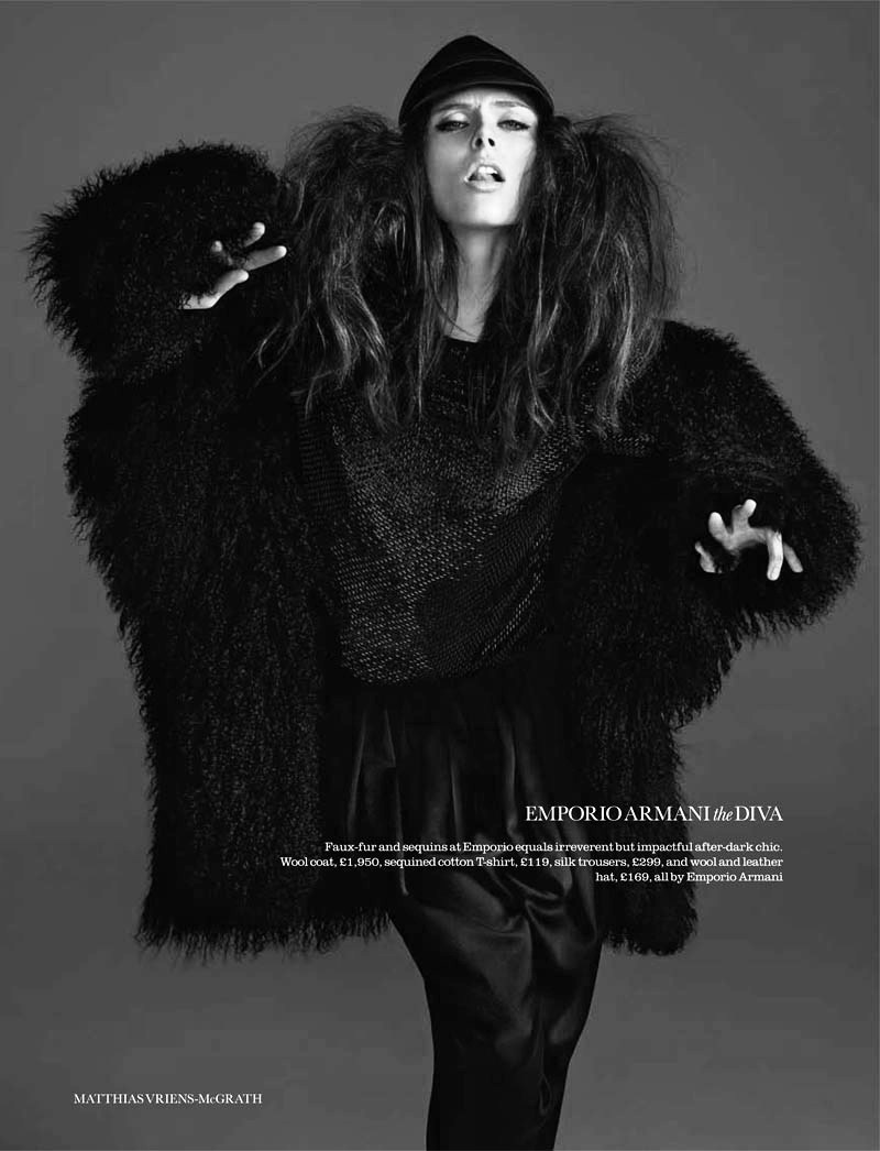 'The shock of the new'. Coco Rocha by Matthias Vriens-McGrath