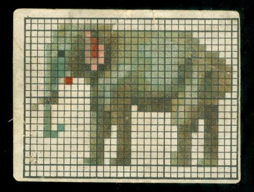 (via Anonymous Works: Elephant Cross Stitch)
