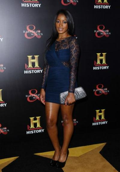 actress Keke Palmer out at a recent event in Los Angeles…