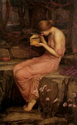 John William Waterhouse, Psyche Opening the Golden Box, 1903