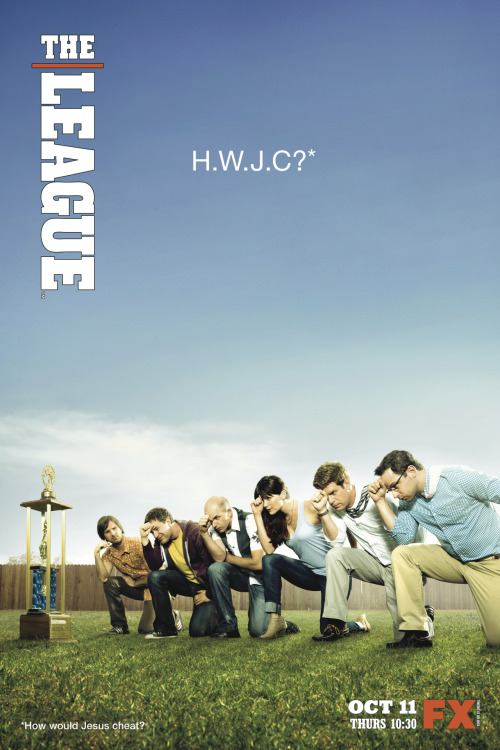 theleaguefx:  You know what's awesome about leaking our Season 4 poster before the network's shown it to anyone? Everything.