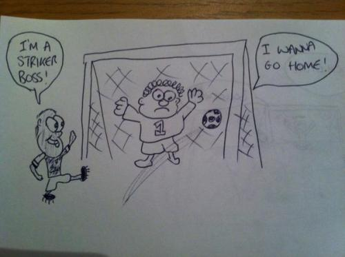 """EXCLUSIVE!! First picture of Theo Walcott scoring Arsenal's 4th goal""  /via @KeithTheGooner"