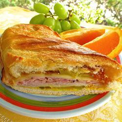 Peachy Cuban Panini, photo by lutzflcat