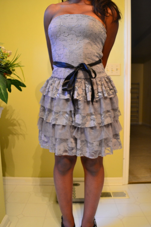 My homecoming dress, what do you guys think?  A date would be nice right?