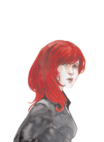Black Widow by Stephanie Hans