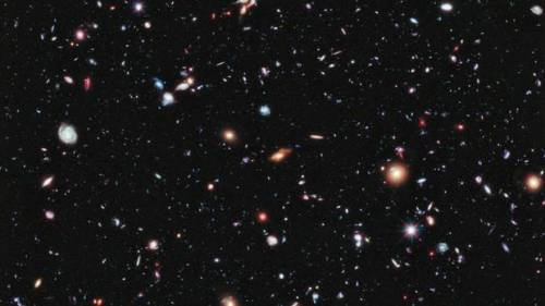 Billions and billions. (via New Hubble photos show 'extreme' view of universe