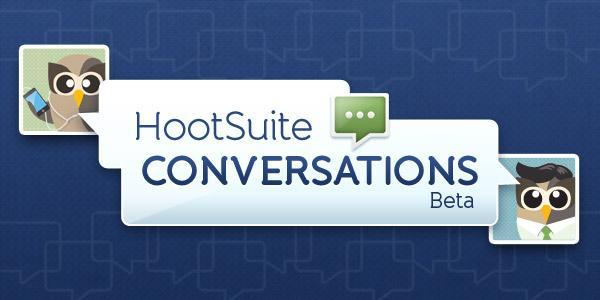 "transitionmarketing:  HOOTSUITE CONVERSATIONS – BETA TESTING  Hootsuite recently introduced the Beta version of its new Conversation tools. The Conversations tool is the newest addition to the already formidable Hootsuite array. A Social Media interaction platform developed by our fellow Canadian Ryan Holmes. Below we share their formal statement and description of the new Conversations software (pulled directly from Hootsuite site): Hootsuite Conversations: ""New HootSuite Conversations allows teams and organizations to communicate internally without leaving the HootSuite dashboard. Invite anyone to chat within teams or to the entire company, push messages from social networks to conversations within HootSuite and discuss, like, retweet, even broadcast further to members' own social networks.""  Hootsuite introduces its own messaging system, intended to enable quick communication and sharing between Hootsuite users.  Simplify Communications: With HootSuite Conversations you can converse with anyone you work with, collaborate with, and share messaging with, easily and intuitively with the in-dash tool. Bring everyone together, get out of your inbox and eliminate time consuming email threads. *Plus! Enjoy the option to pop out the conversation window so you can stay on top of communications while in other workspaces on your desktop*  The Hootsuite Conversations interface is meant to allow more efficient sharing of current Social Media developments and conversations.  Internal Conversations & External Engagement Send social messages to internal conversations for teams to discuss and share. Teams can then discuss response strategies, communicate approved messaging and encourage others to broadcast across their own social networks by replying, retweeting, or posting to other social networks.  HootSuite Conversations allows you to add anyone to your conversation – Free.  Collaborate With Everyone HootSuite Conversations allows you to add anyone to your conversation – free – in order to discuss social messages and receive approved messaging. Communicate with your team, department or entire organization, without leaving the HootSuite dashboard. Adding collaborators is also easy as HootSuite Conversations allows you to import contacts from gmail, and recognizes your colleagues online. MORE HERE"