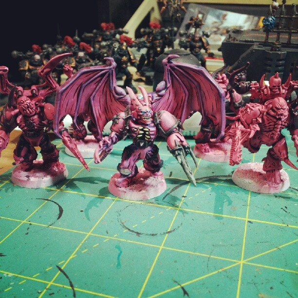 Pink possessed in progress? Perhaps. (Taken with Instagram)