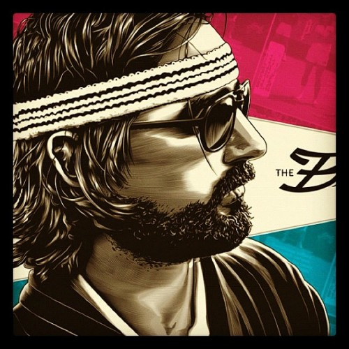 Sneak peek at the new Royal Tenenbaums print by @jeffboyes for our upcoming Wes Anderson art show, Bad Dads. This year we're taking the show to NYC and SF, stay tuned! (Taken with Instagram)