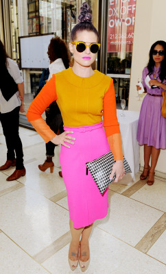 #streetstylethursday kelly osborne looking pretty fierce!