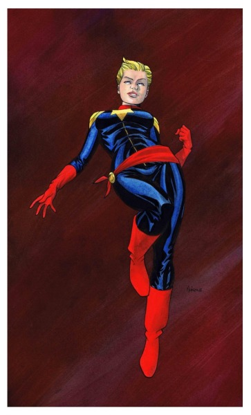 Captain Marvel by Mike McKone