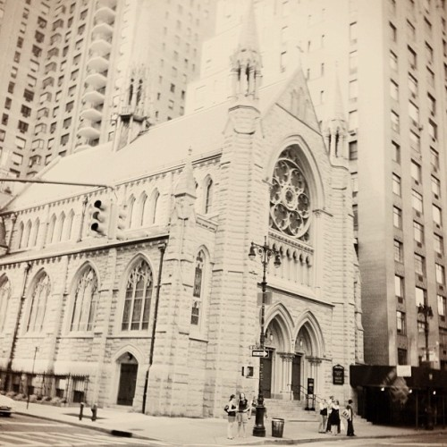 #church #nyc #iphoneography #instagram #newyorkcity #upperwestside (Taken with Instagram at Central Park - 65th St Transverse)