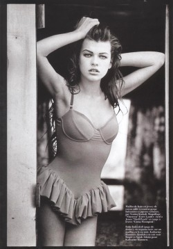 Milla by Peter Lindbergh, 1990