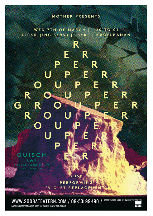Grouper Poster (by VANDER YACHT)