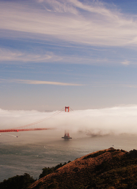 thehipsterkids:  GG Bridge by LisaW123 on Flickr.
