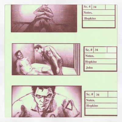 "…storyboards for ""Con Games"" 2001 (Taken with Instagram)"