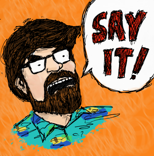 Doodle of my friend Kevin, the mastermind behind this video: