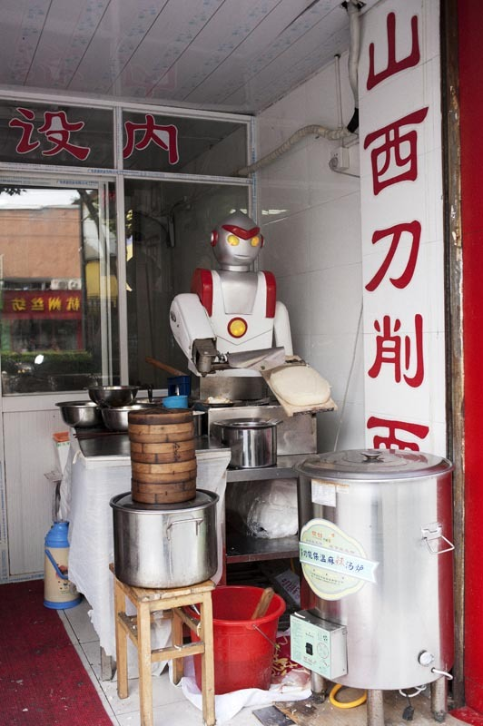 Robot Dumpling Maker, Hangzhou, China, 2012 - Davey Warren