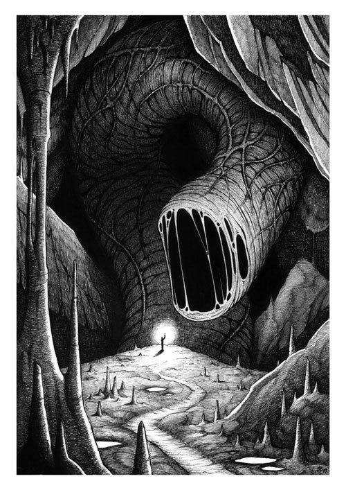 michaelbrack:  The abyss worm