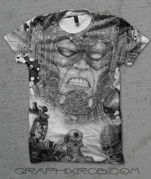 INSANE T-Shirt design in the works!!  WANT! Based on a Galactus by GraphixRob Website || Deviantart || Tumblr