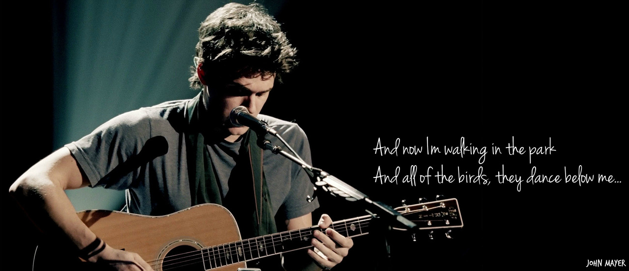 ♥ John Mayer - In repair.