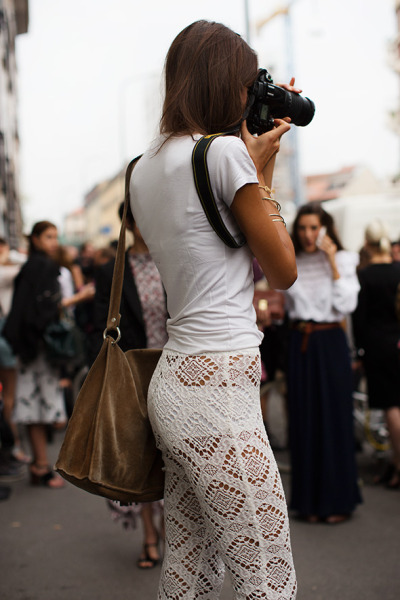 pretty photographer.